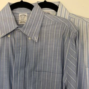 Two Brooks Brothers Button Downs